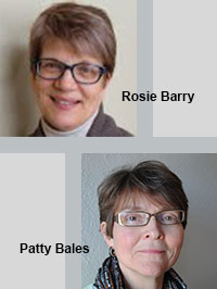 Rosie Barry and Patty Bales